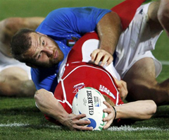 Rugby World Cup 2011 - матч ИТАЛИЯ – РОССИЯ